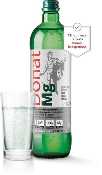 Donat Mg L'acqua minerale naturale
